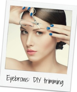 DIY Eyebrows Trimming