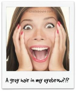 grey eyebrow