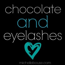 chocolate eyelashes